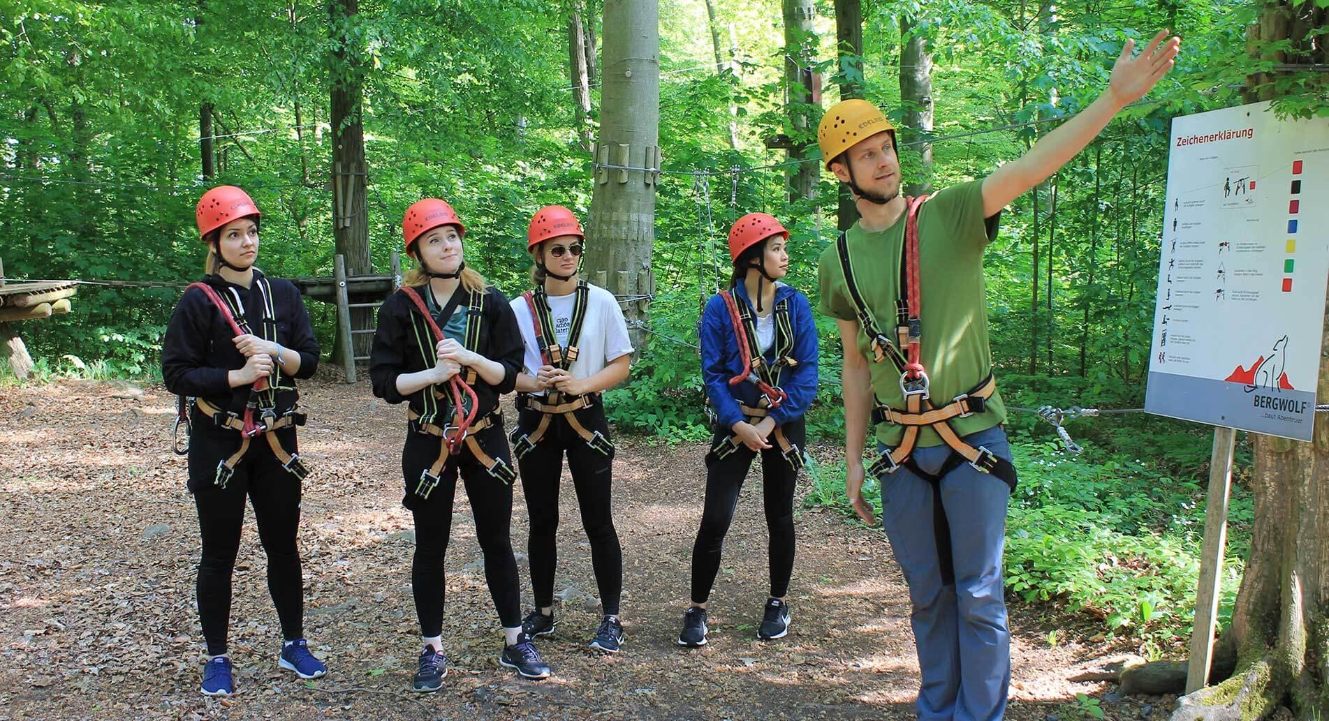 Schulausflug in den Abenteuerpark Moritzburg
