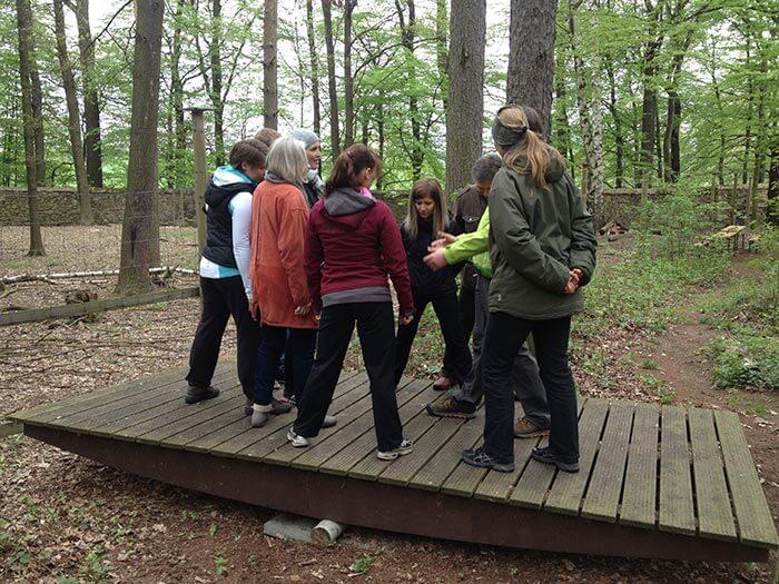 Teamtraining Abenteuerpark Moritzburg